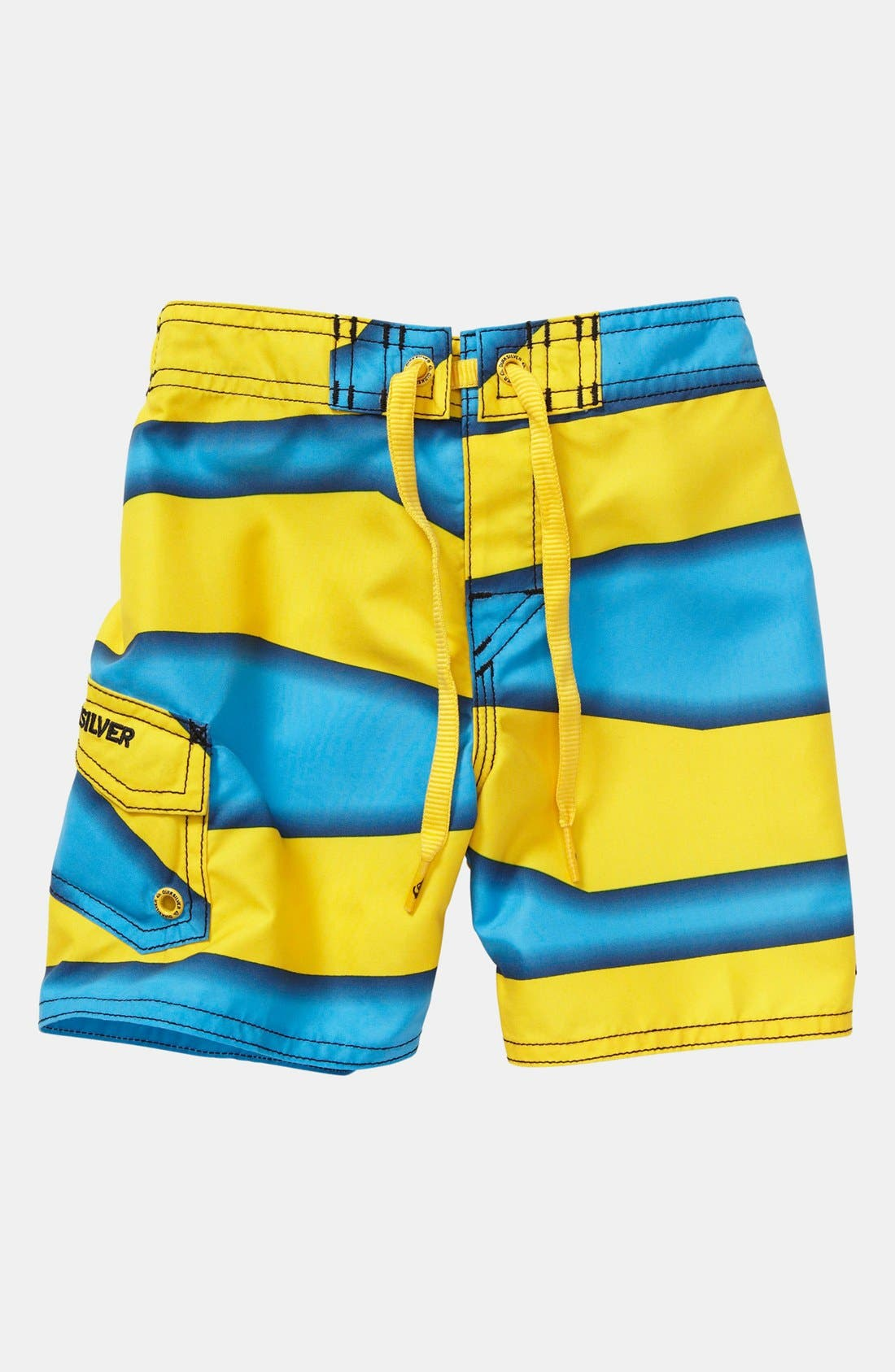 Alternate Image 1 Selected - Quiksilver 'Magic Trick' Board Shorts (Baby Boys)