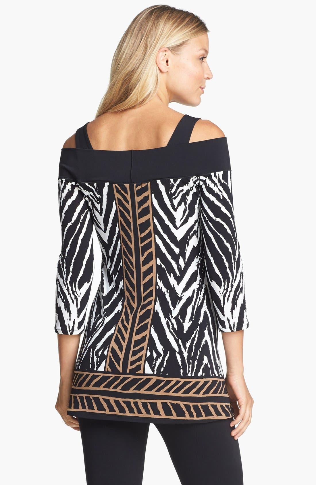 Alternate Image 2  - Eva Varro Off Shoulder Stretch Knit Tunic