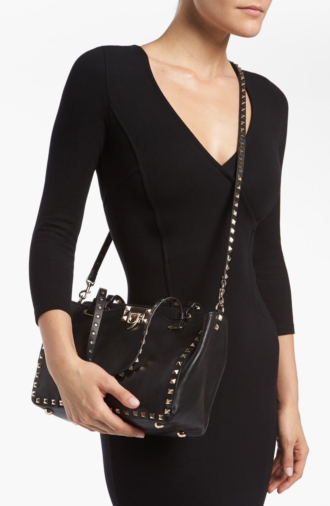 Alternate Image 2  - Valentino 'Rockstud - Mini' Crossbody Bag