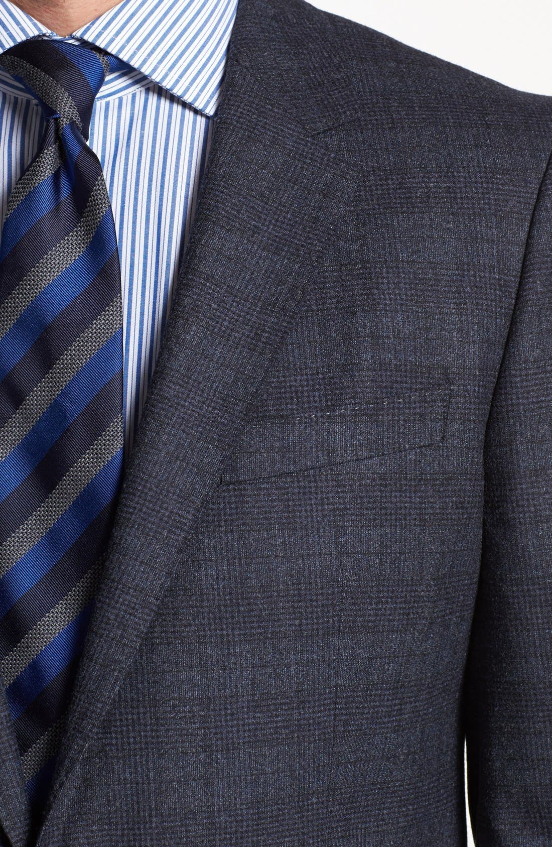 Alternate Image 2  - BOSS HUGO BOSS 'Hedge/Gense' Trim Fit Plaid Suit