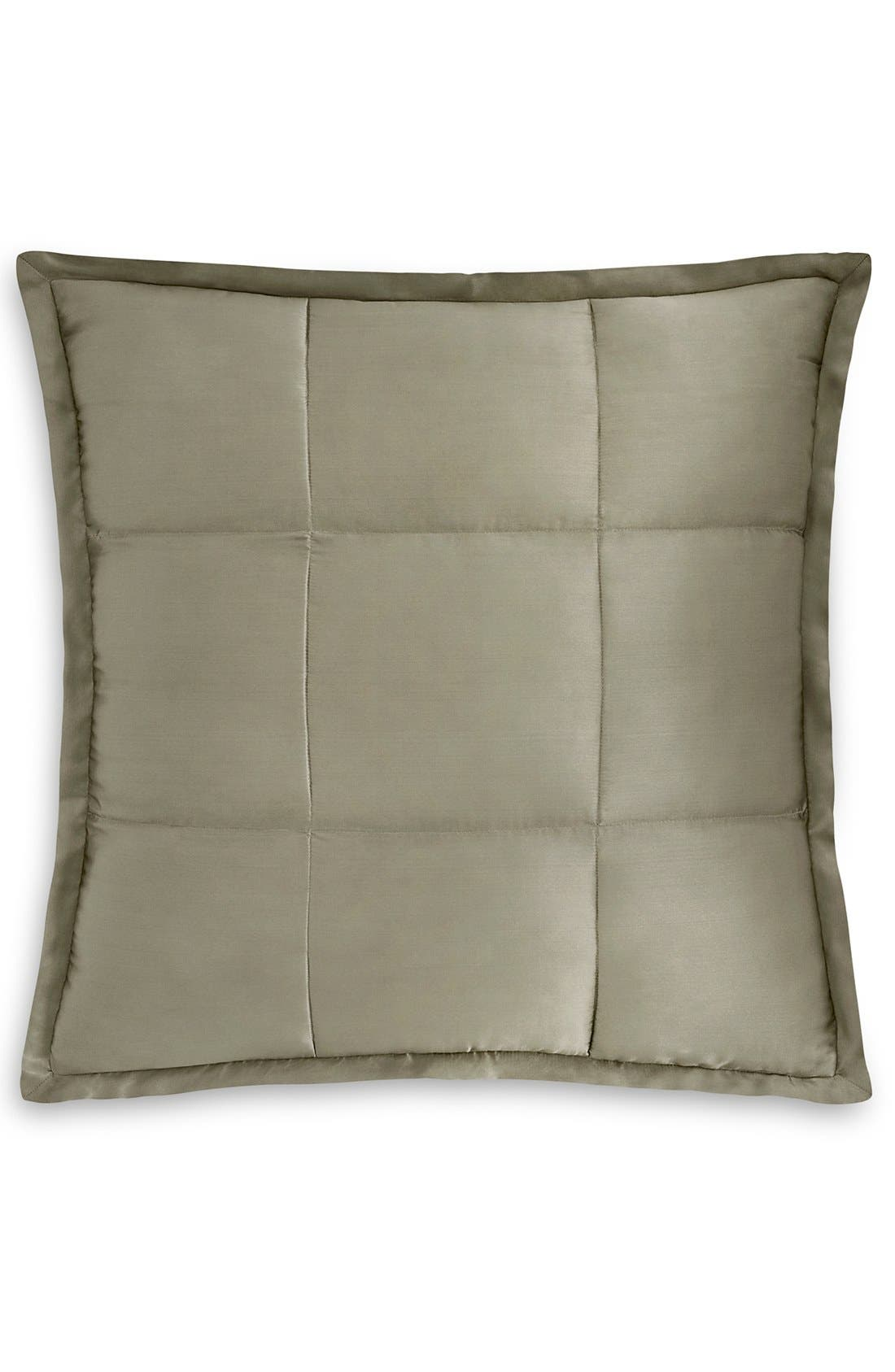 Alternate Image 1 Selected - Donna Karan 'Modern Classics' Silk & Cotton Quilted Euro Sham (Online Only)