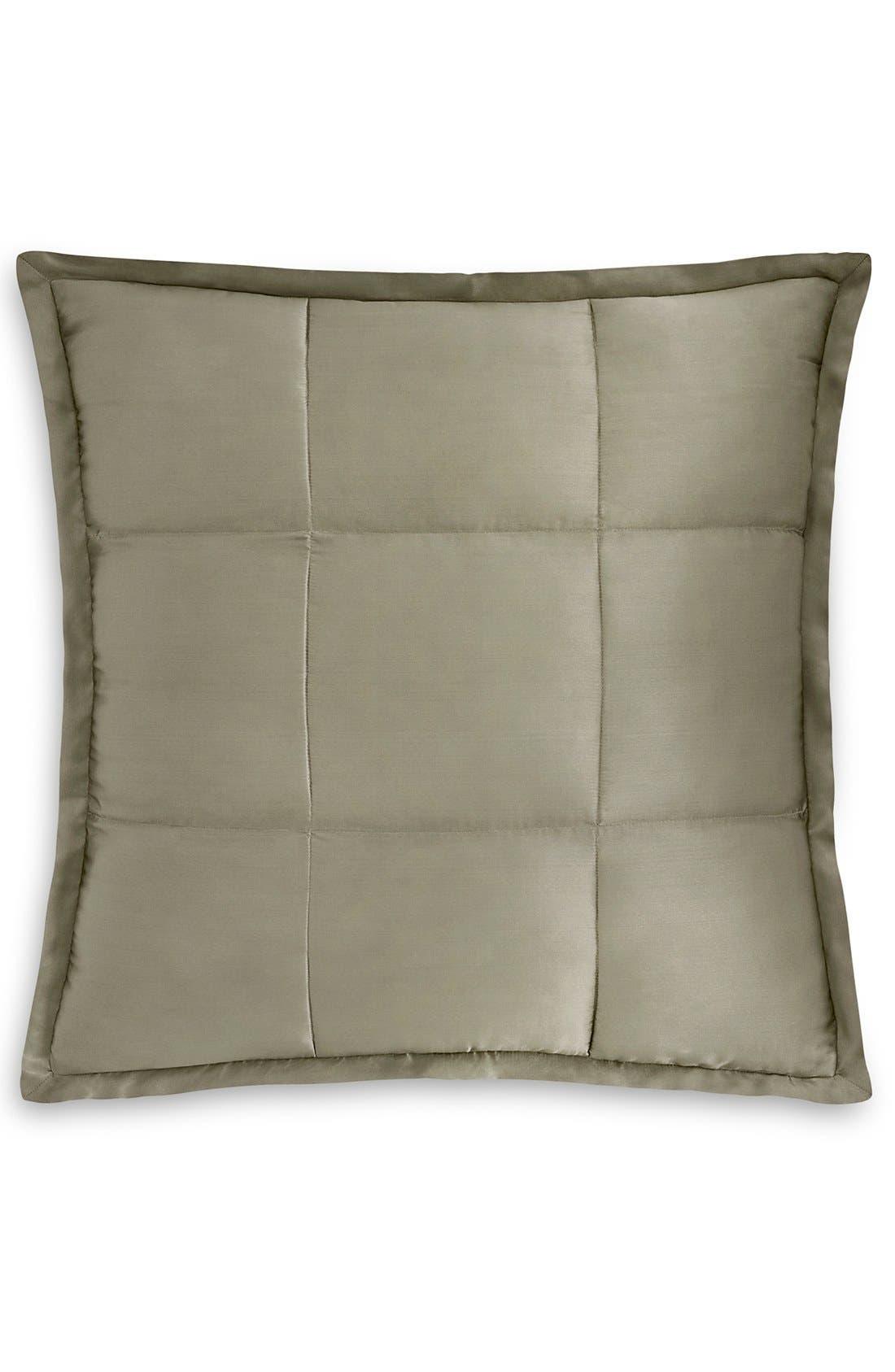 Main Image - Donna Karan 'Modern Classics' Silk & Cotton Quilted Euro Sham (Online Only)