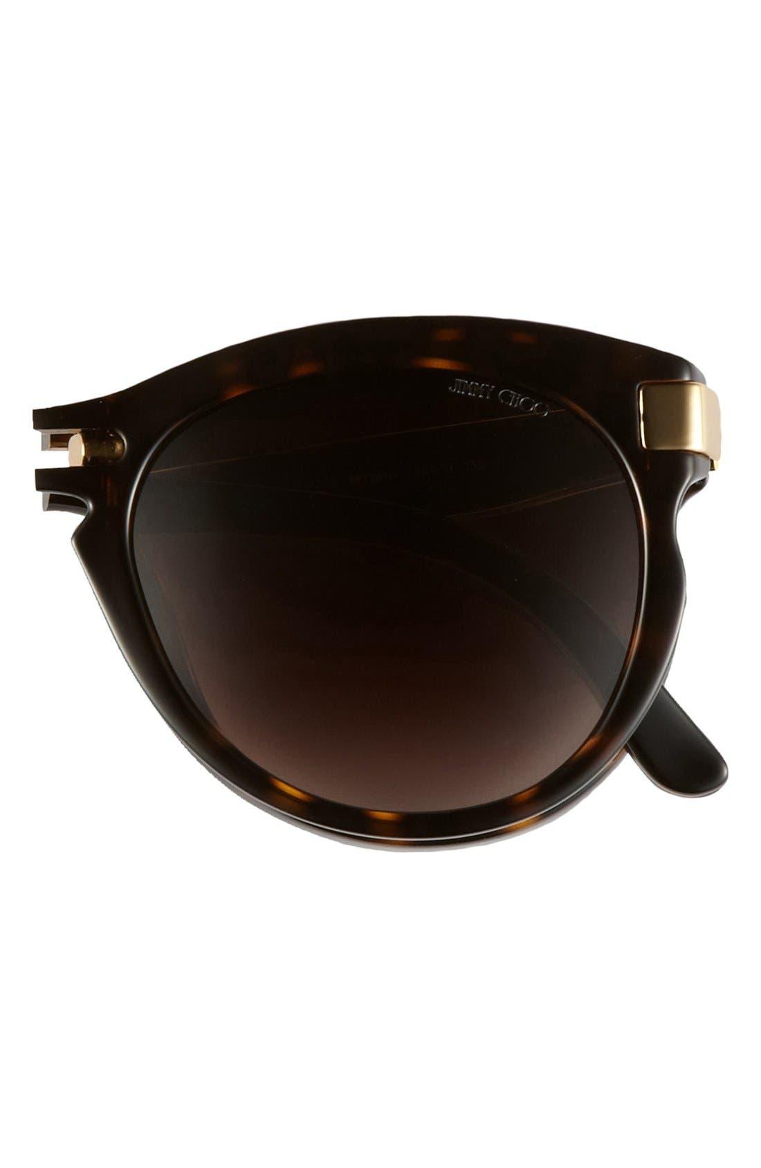 Alternate Image 2  - Jimmy Choo 'Lanas' 55mm Sunglasses