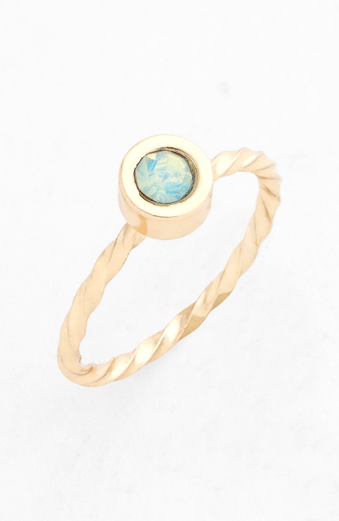 Alternate Image 1 Selected - BP. Small Stone Midi Ring