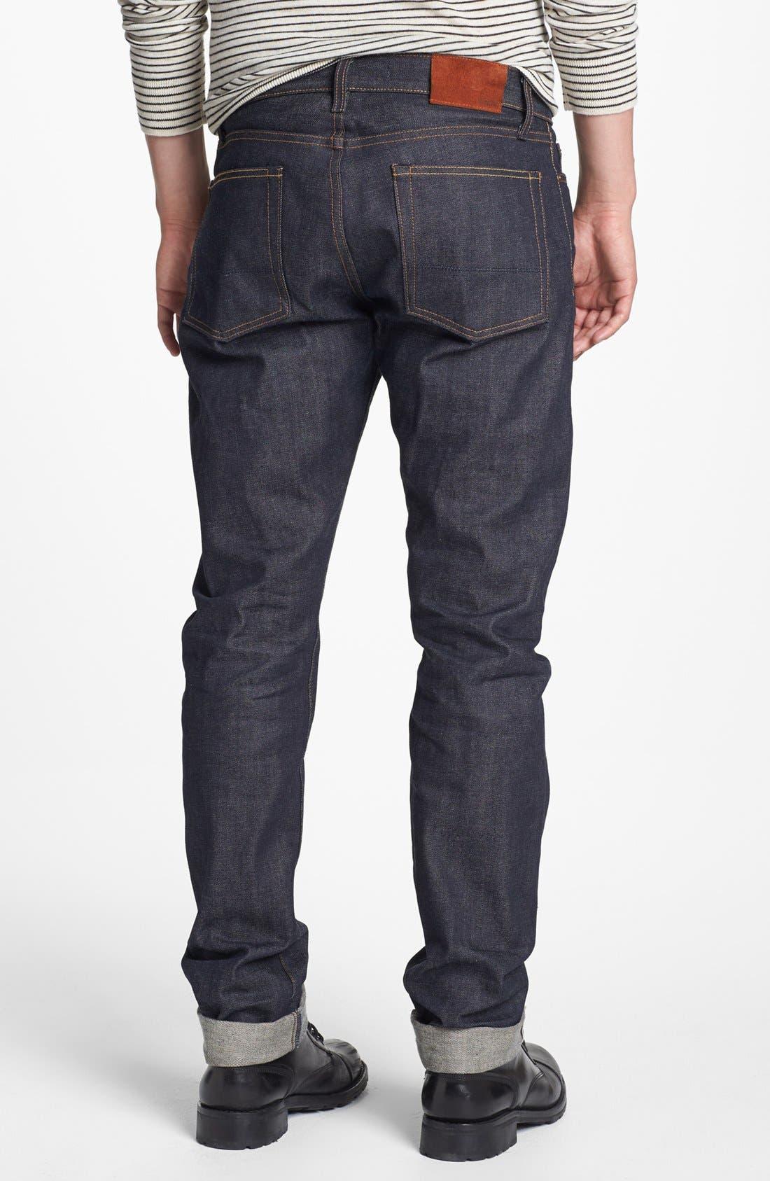 Alternate Image 2  - Vince Five-Pocket Selvedge Denim Jeans