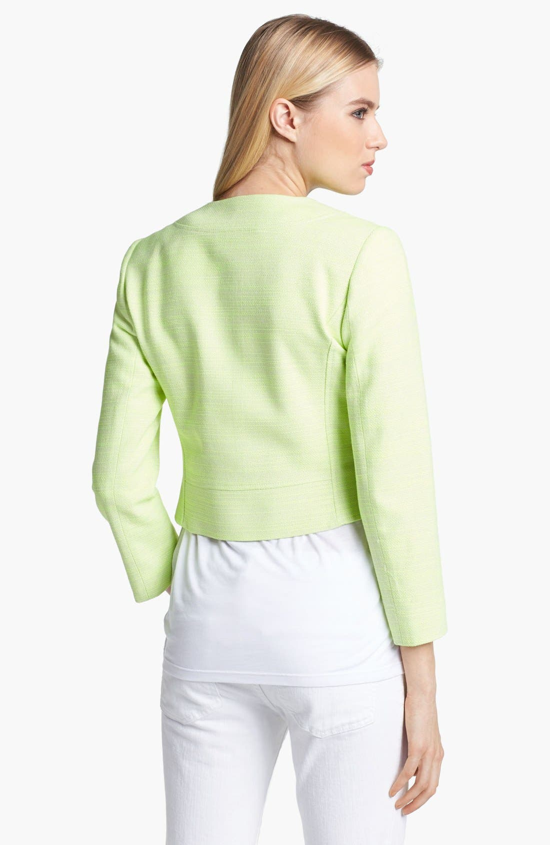 Alternate Image 2  - Ted Baker London Crop Jacket