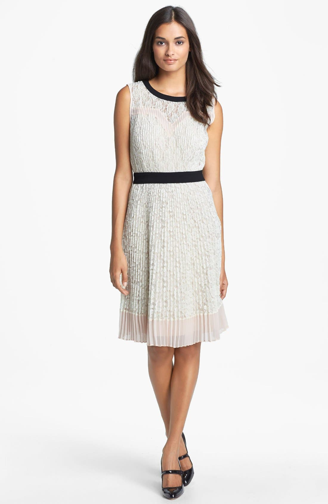 Alternate Image 1 Selected - Ted Baker London Lace Blouson Dress