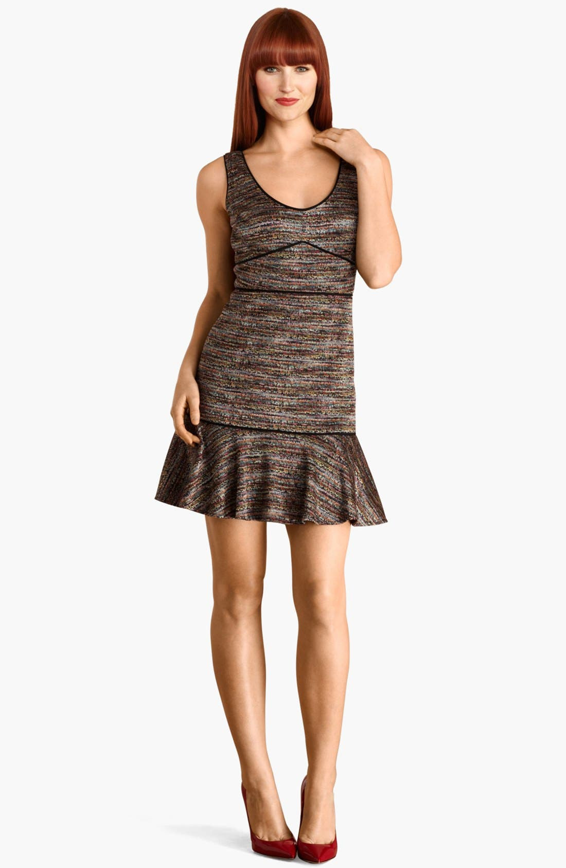 Main Image - Donna Morgan Drop Waist Knit Dress