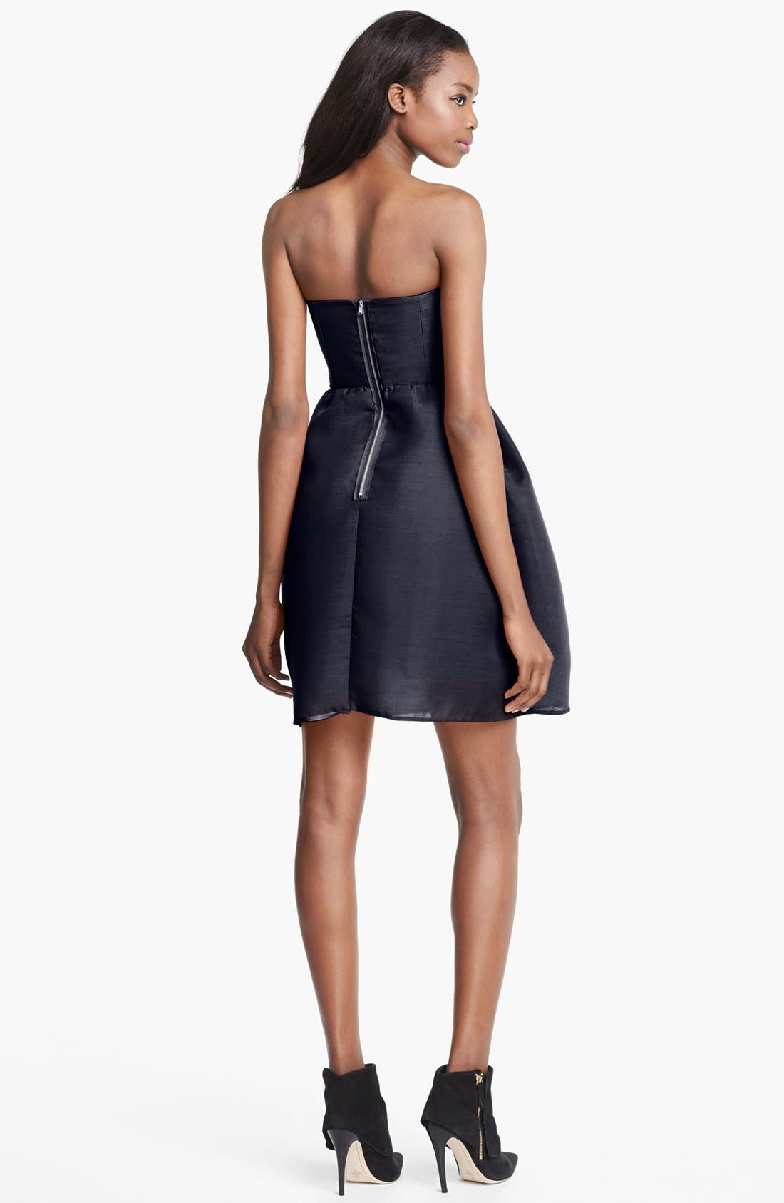Alternate Image 2  - Carven Strapless Gazar Dress