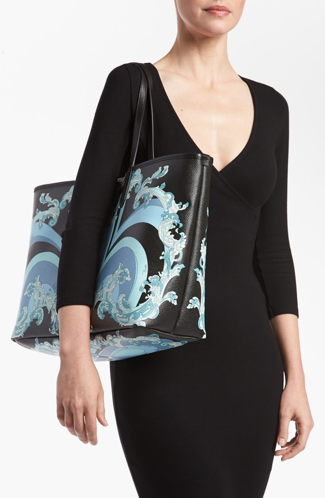 Alternate Image 2  - Emilio Pucci 'Large' Shopping Tote