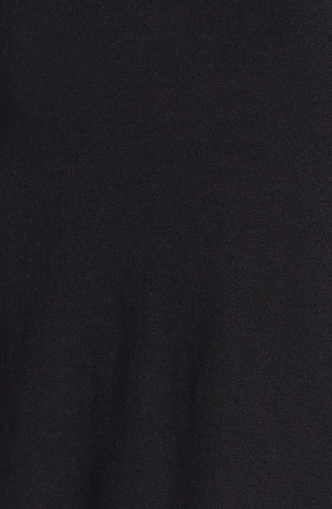 Alternate Image 3  - Vince Camuto Variegated Stripe Tunic Sweater