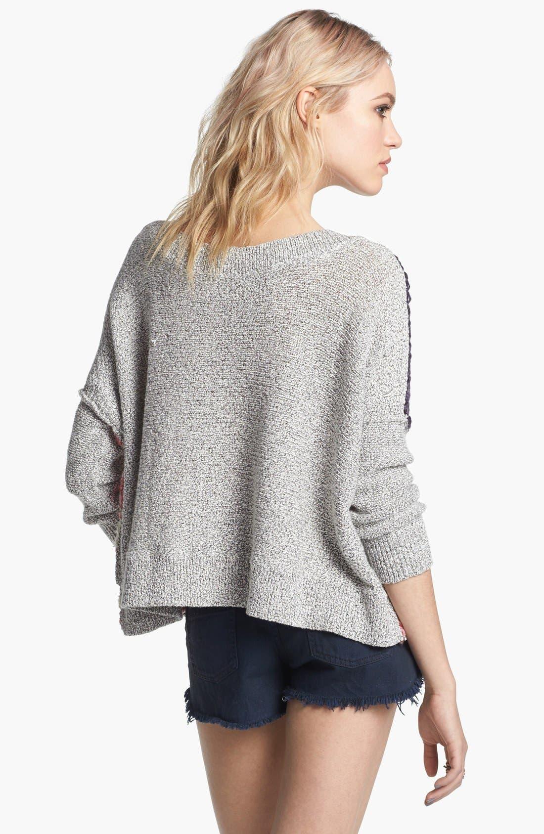 Alternate Image 2  - Free People Flag Sweater