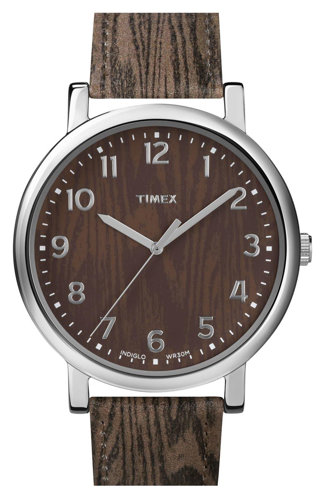 Main Image - Timex® Tromp l'Oeil Dial Watch, 42mm