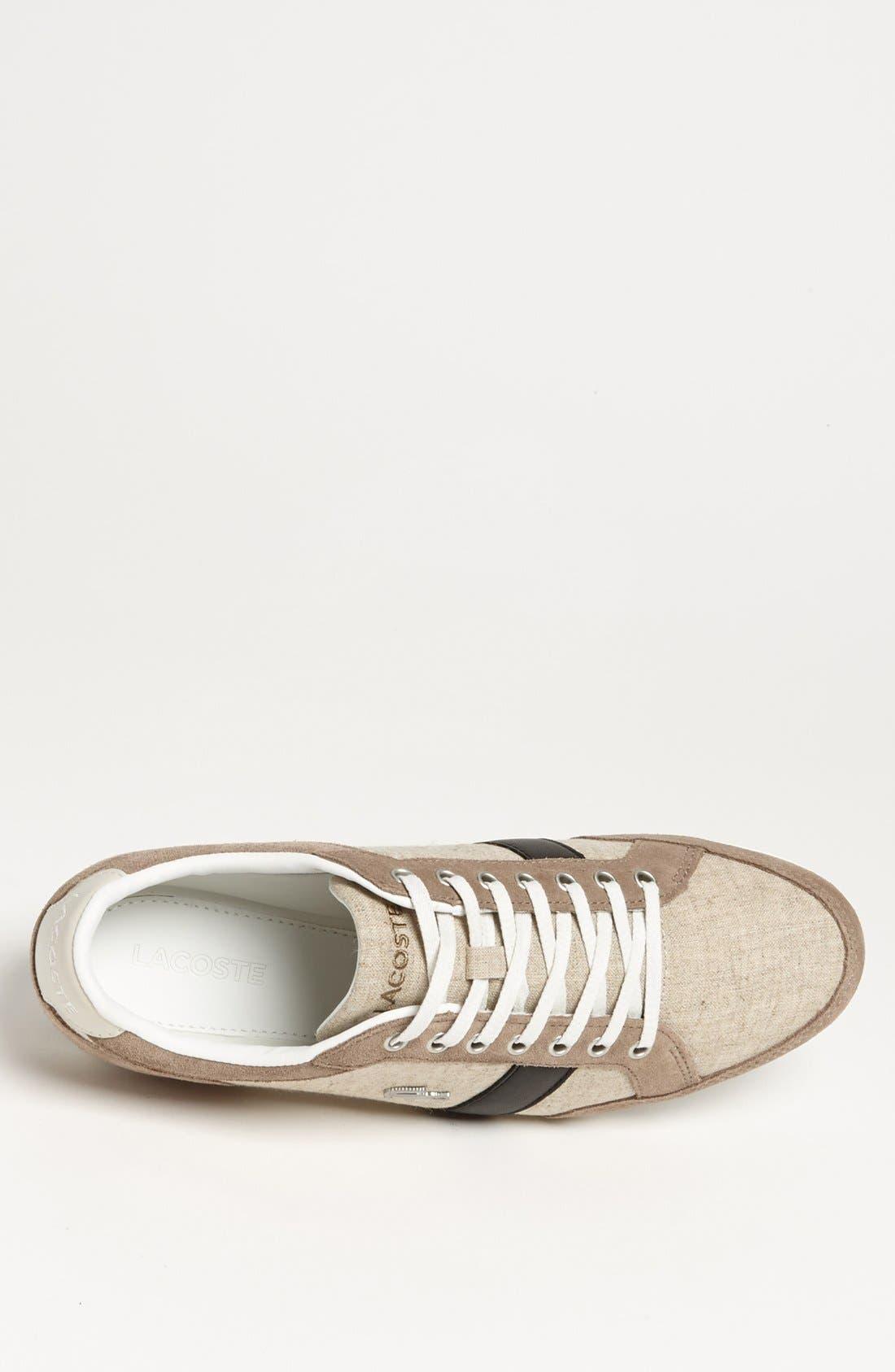 Alternate Image 3  - Lacoste 'Alisos 12' Sneaker (Men)
