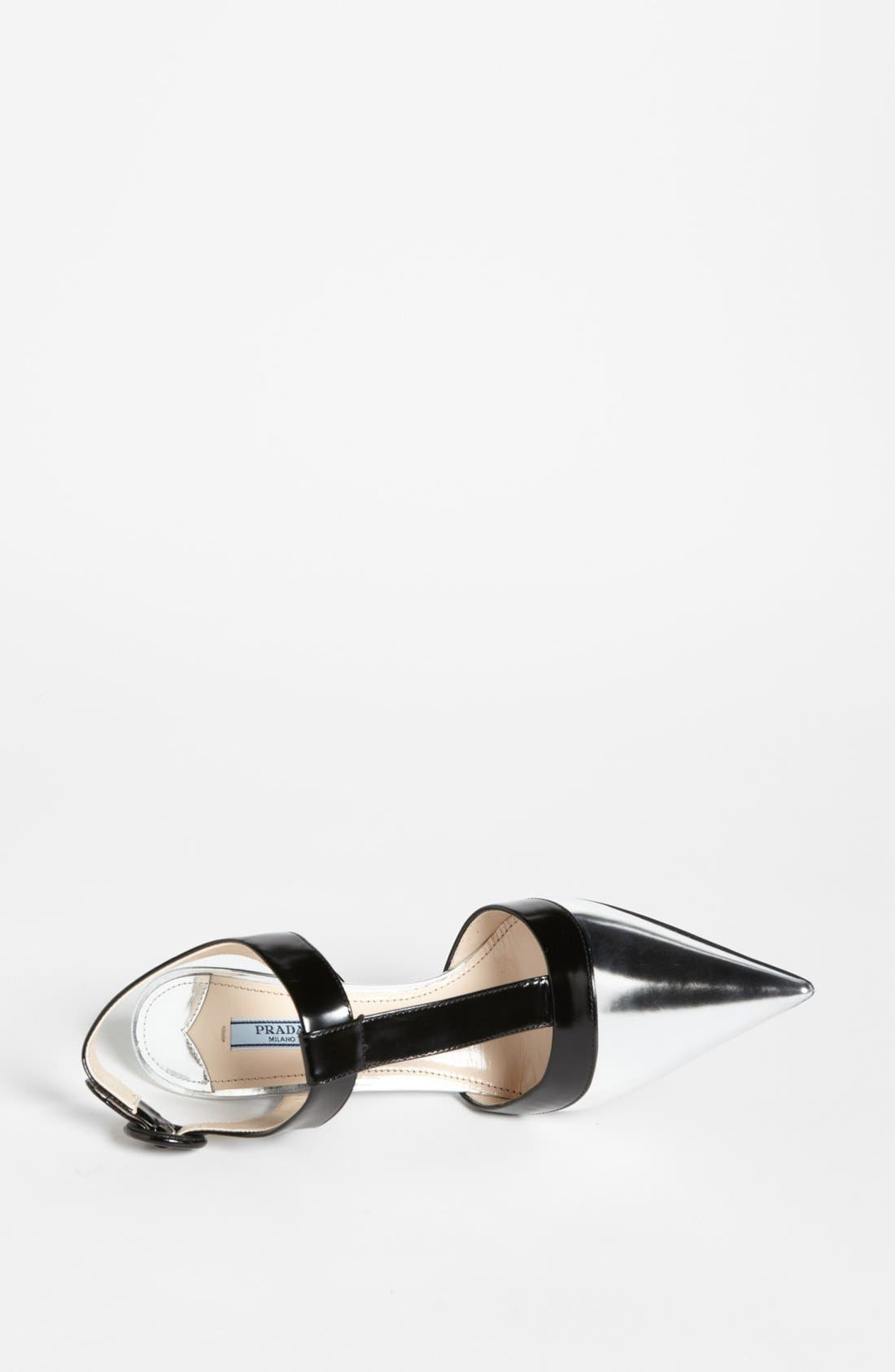 Alternate Image 3  - Prada Bicolor T-Strap Pump