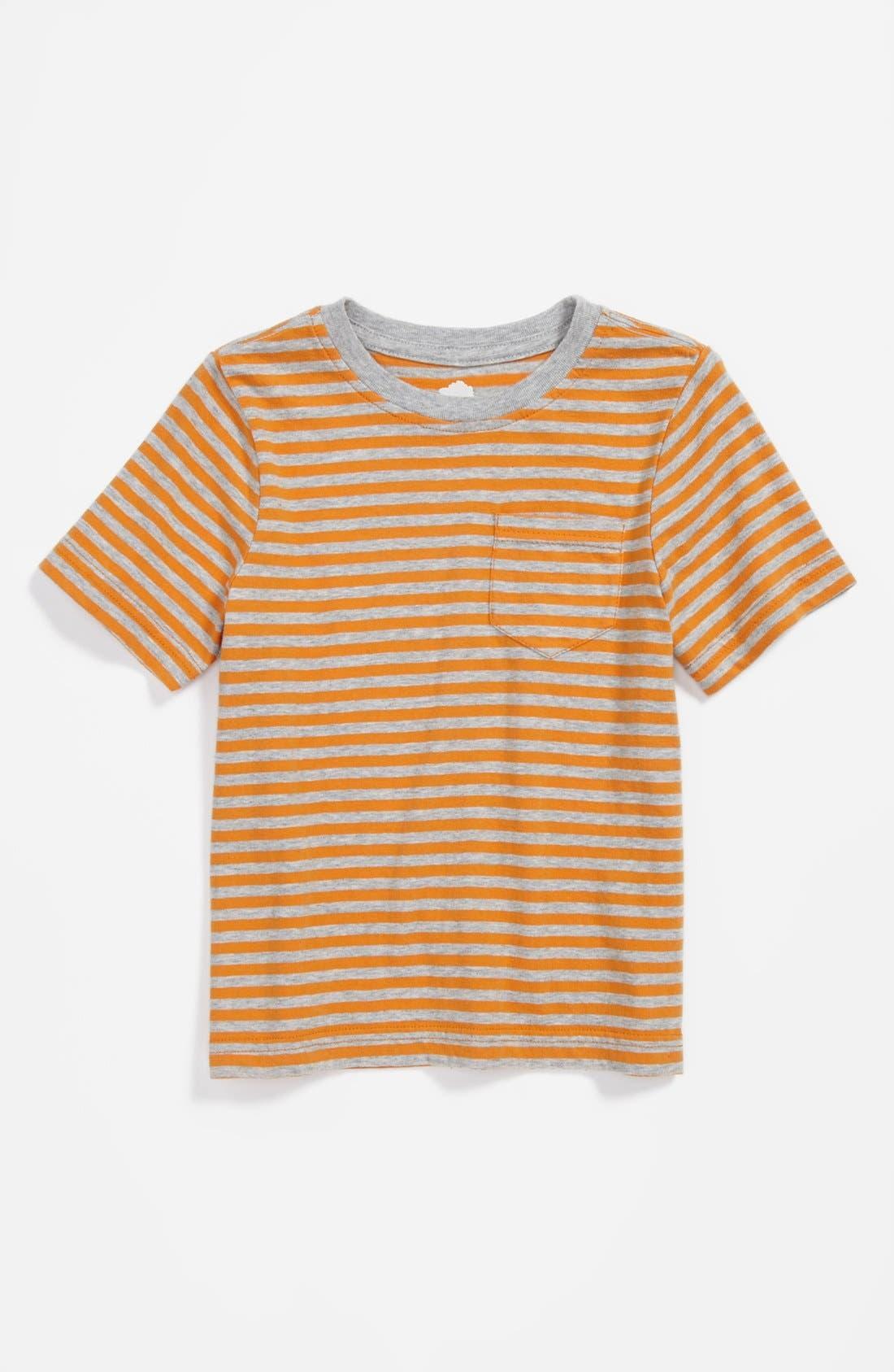 Main Image - Tucker + Tate 'Westlake Stripe' Pocket T-Shirt (Little Boys)