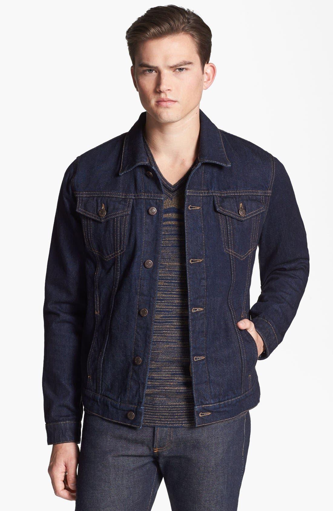 Alternate Image 1 Selected - Missoni Denim Jacket with Removable Vest