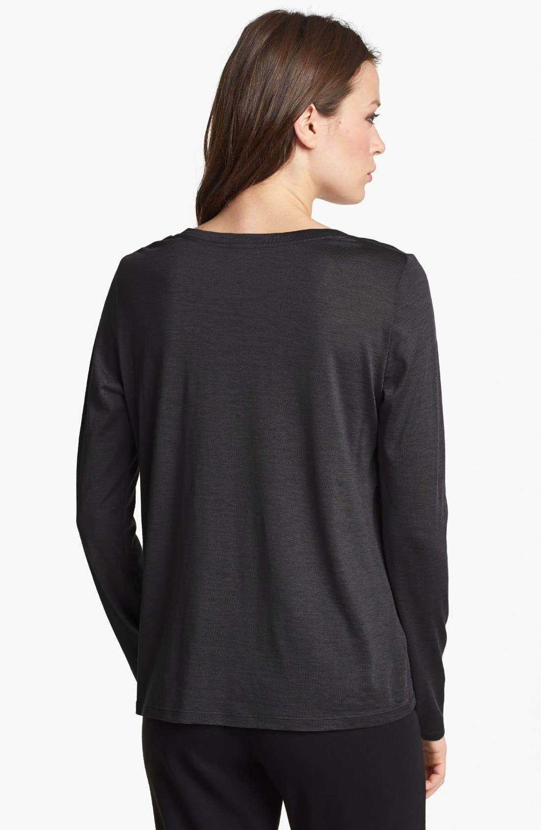 Alternate Image 2  - Eileen Fisher U-Neck Tee