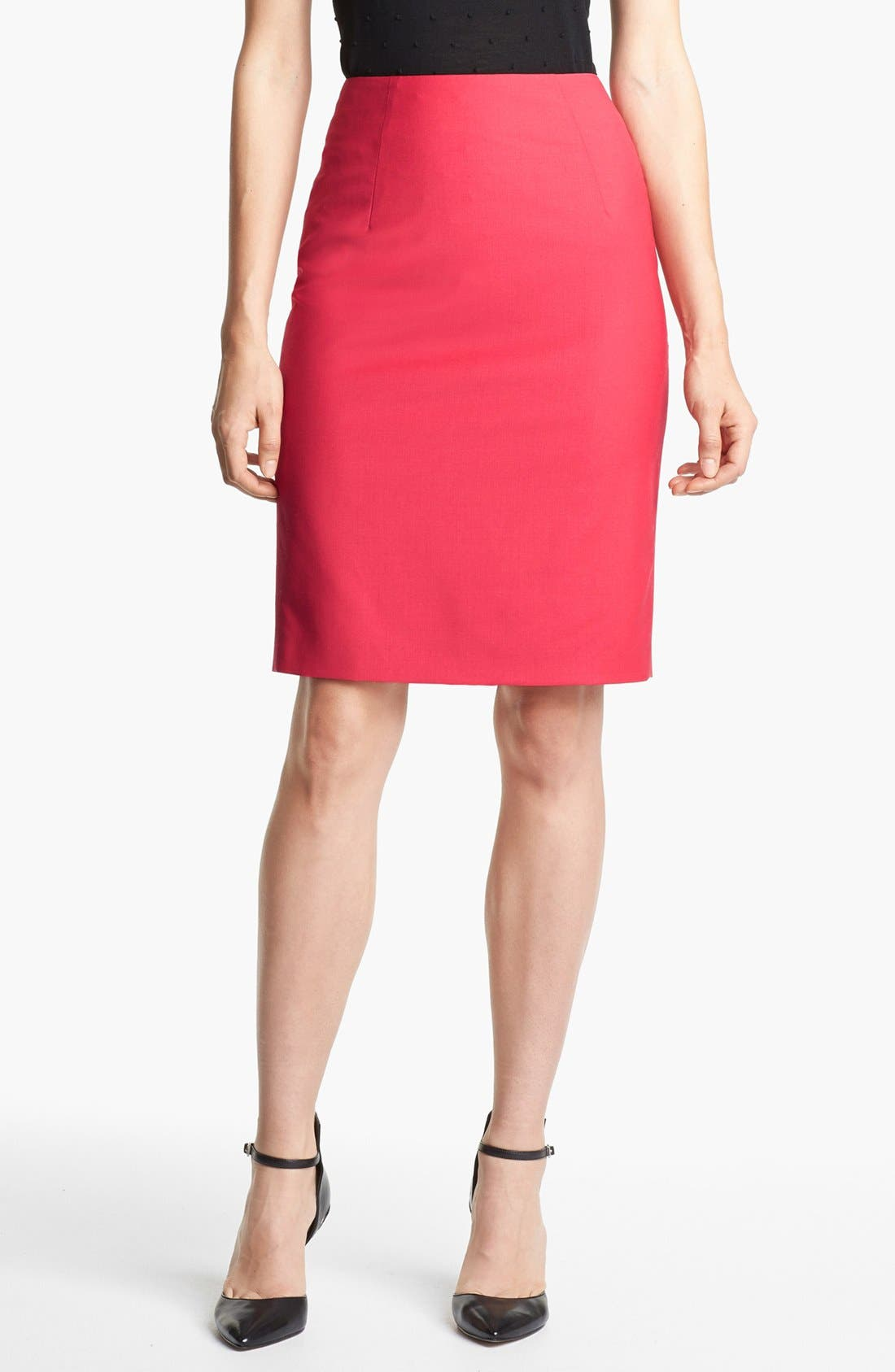 Alternate Image 1 Selected - BOSS HUGO BOSS 'Vilina' Skirt