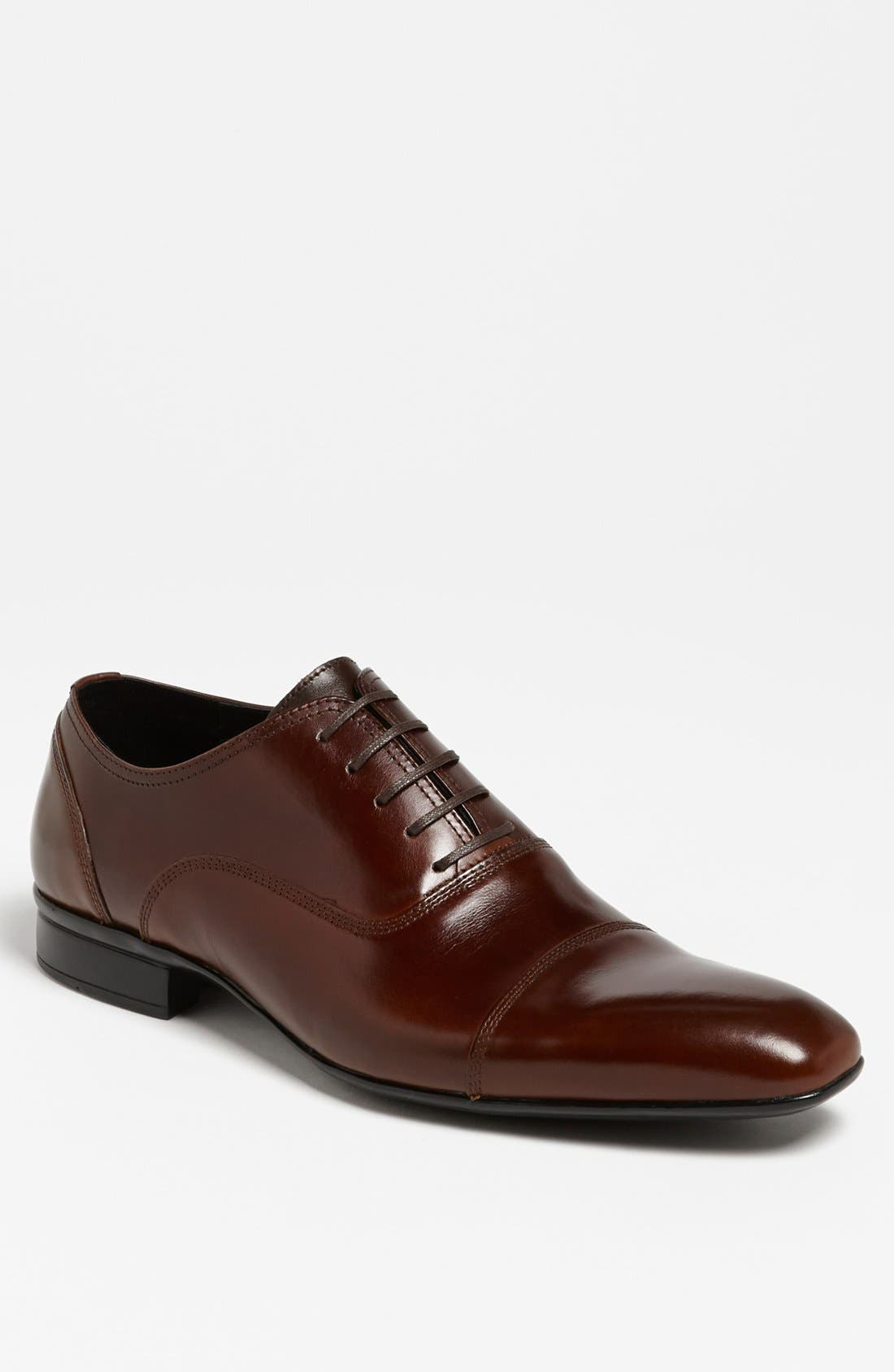 Main Image - Kenneth Cole New York 'Success Rate' Cap Toe Oxford