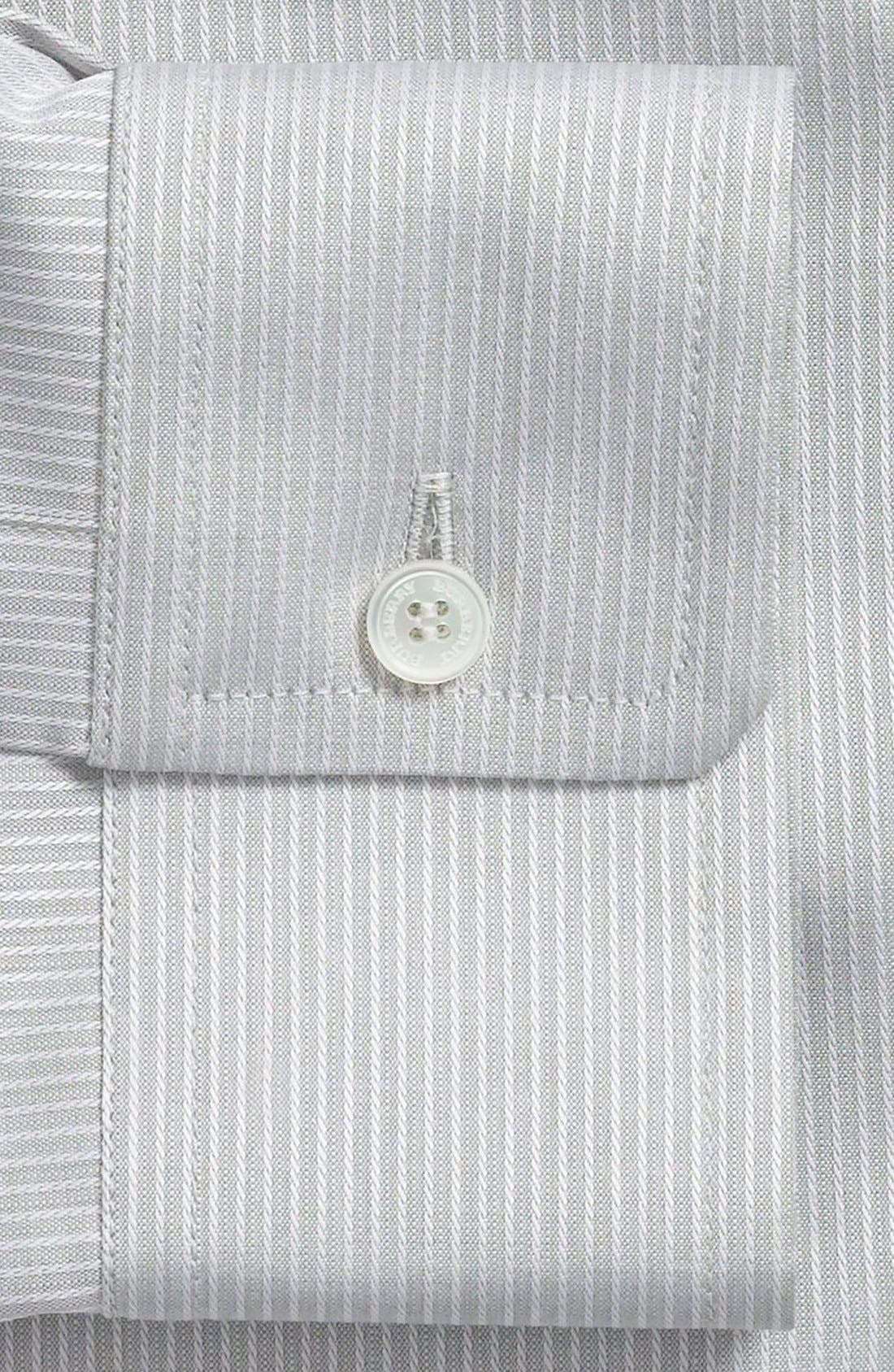 Alternate Image 2  - Burberry London Stripe Tailored Fit Dress Shirt