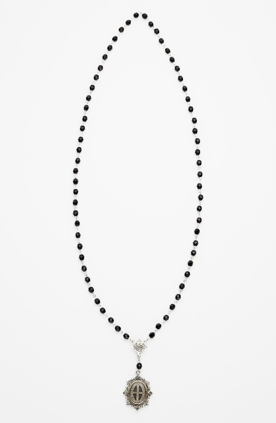 Main Image - Virgins Saints and Angels Beaded Necklace (Nordstrom Online Exclusive)