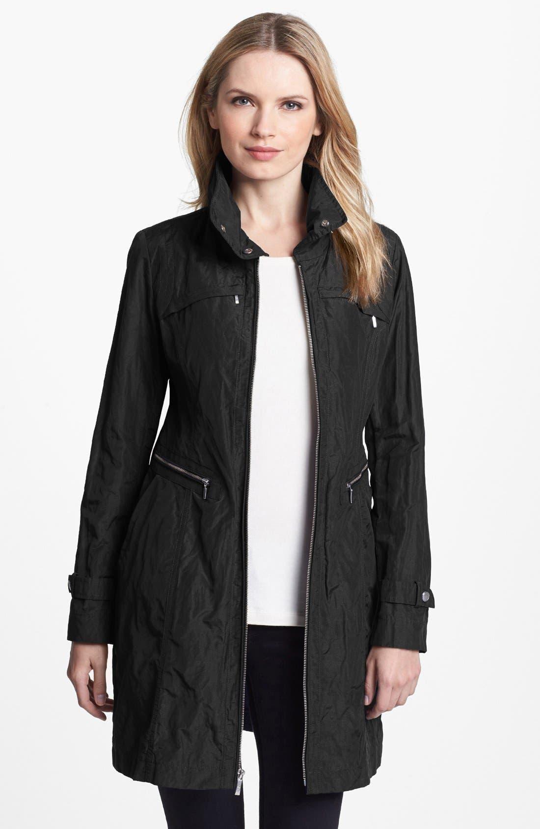 Alternate Image 2  - Cole Haan Metallic Packable Jacket