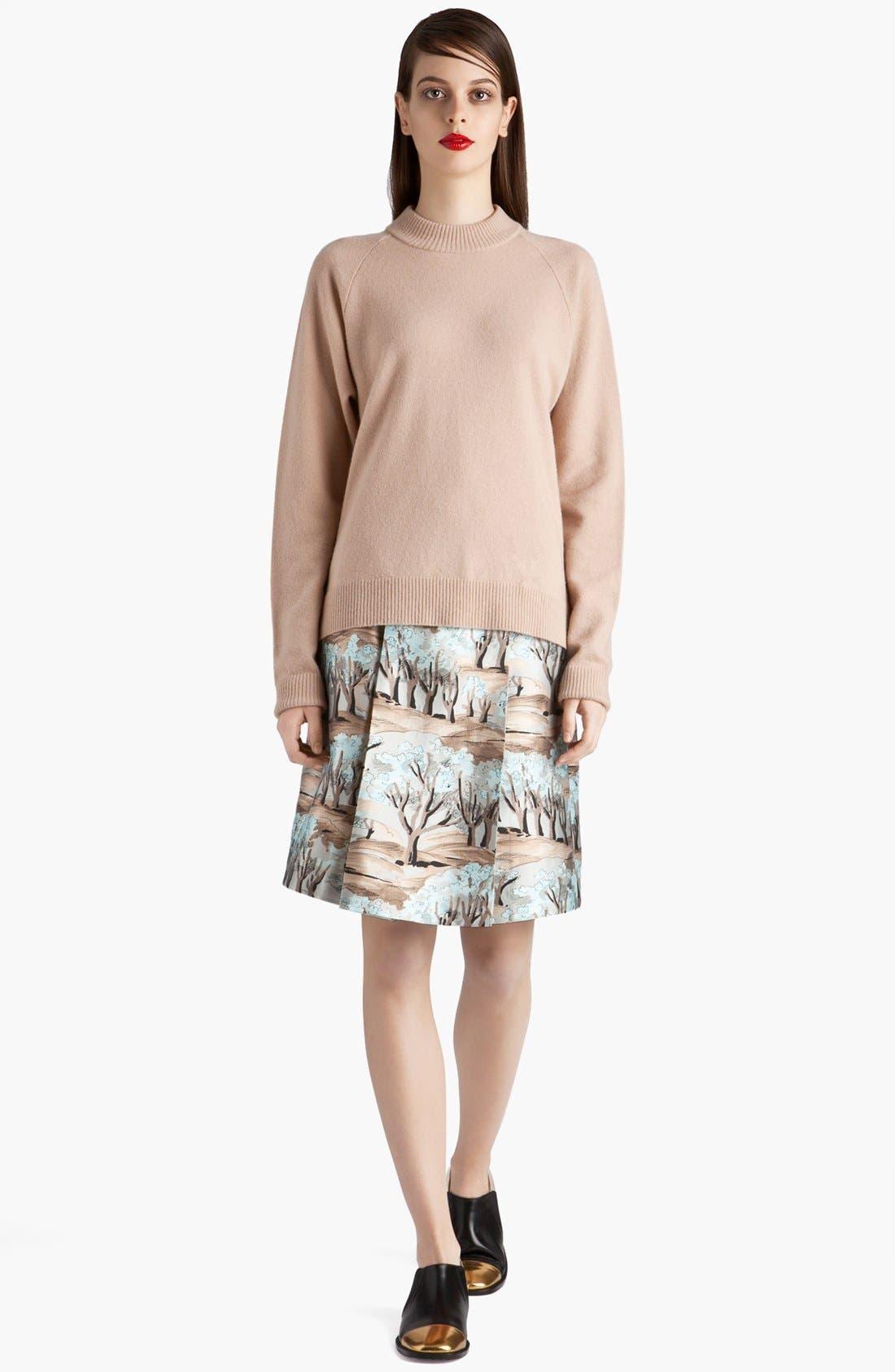 Alternate Image 2  - Marni Forest Print Front Pleat Radzimir Skirt