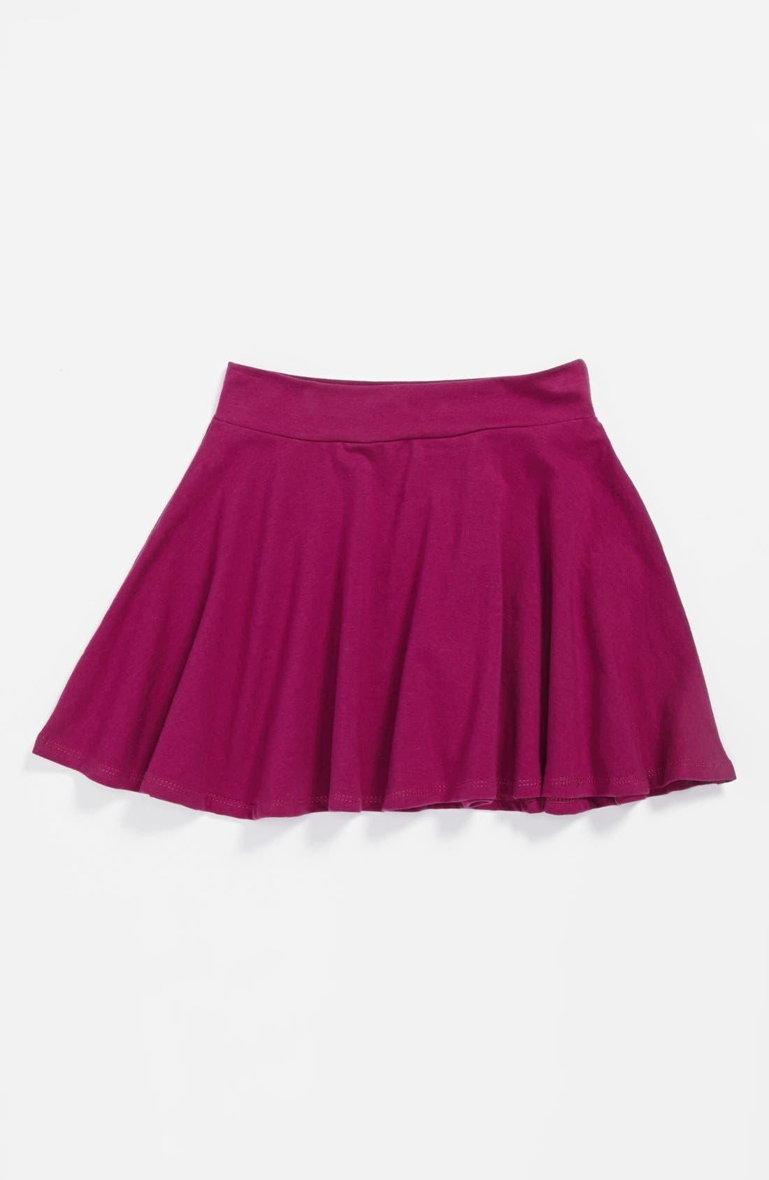Alternate Image 1 Selected - Mia Chica Skater Skirt (Big Girls)