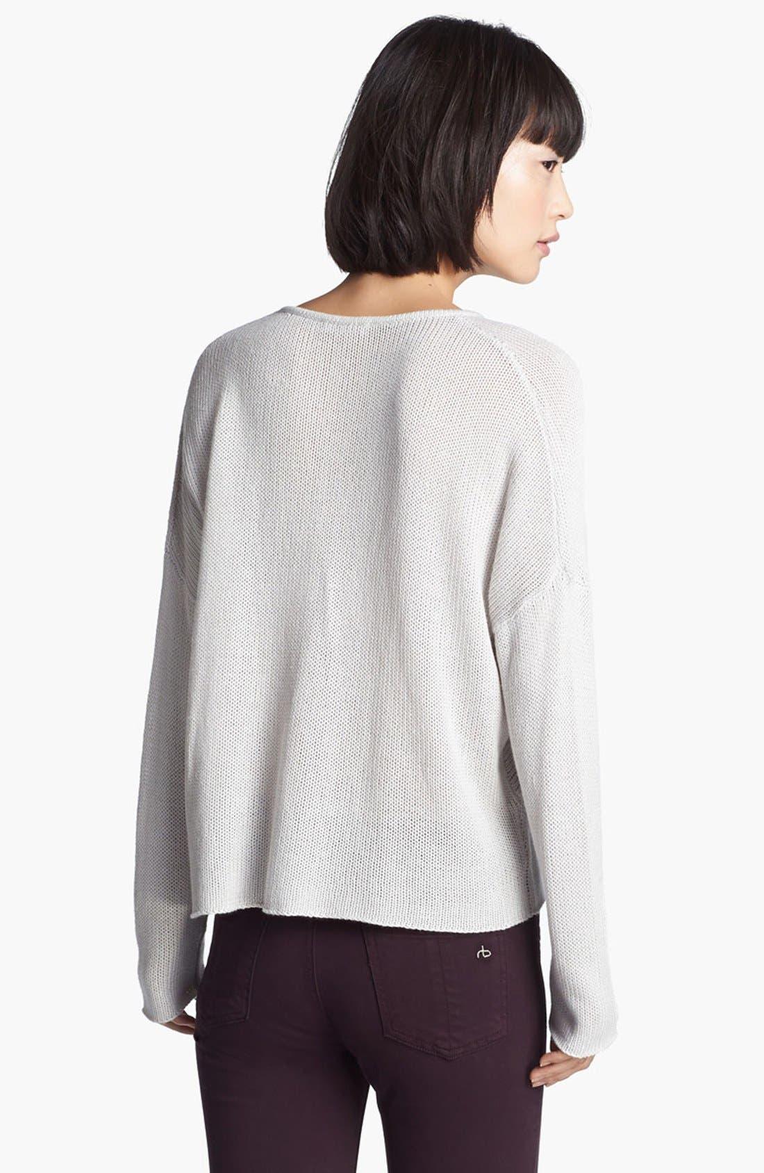 Alternate Image 3  - HELMUT Helmut Lang Brushed Knit Sweater