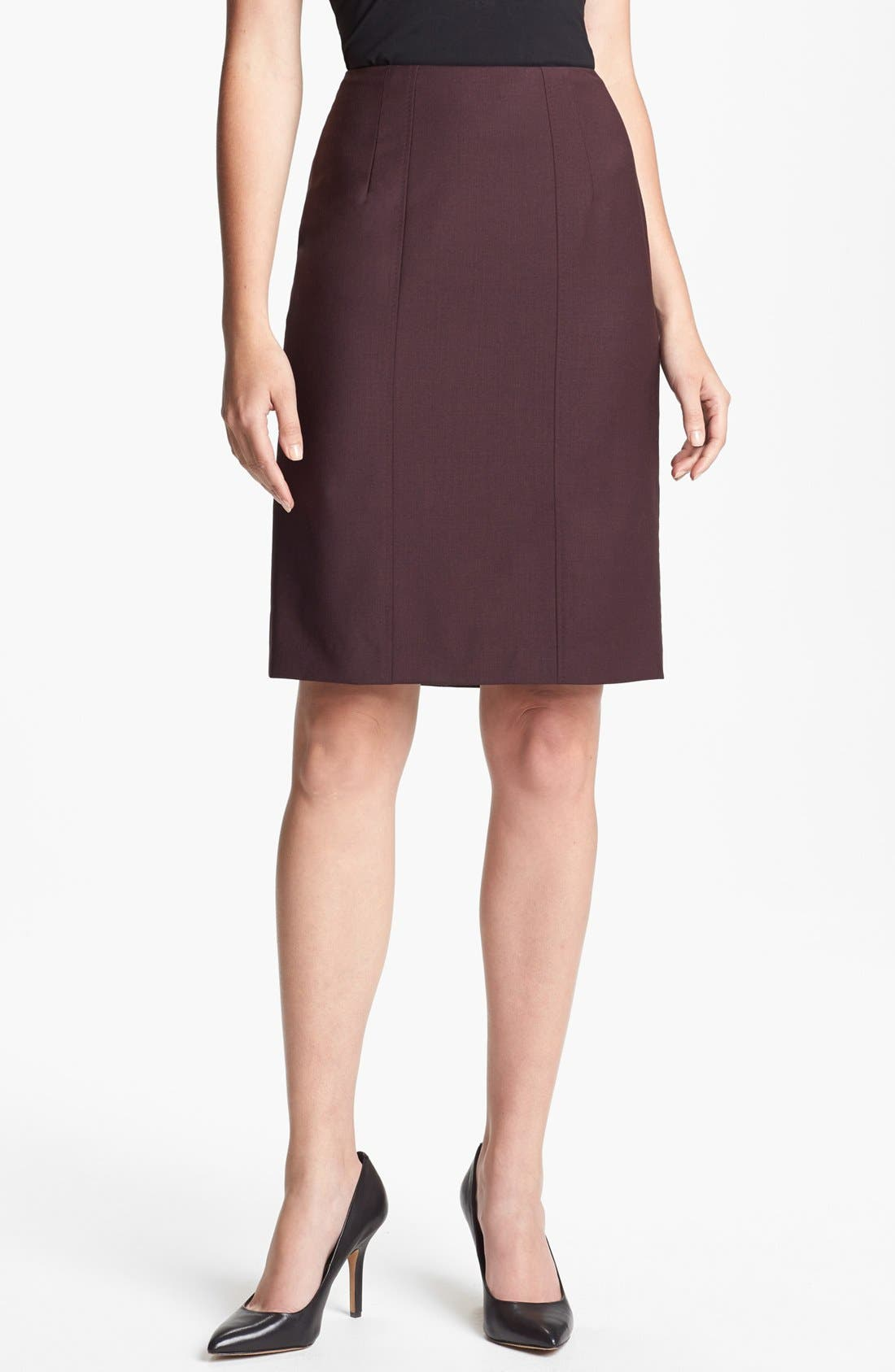 Alternate Image 1 Selected - BOSS HUGO BOSS 'Vilisa' Skirt
