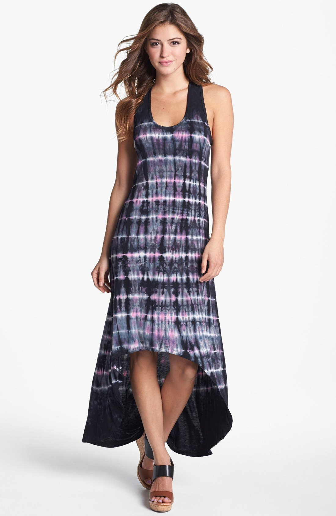 Alternate Image 1 Selected - Felicity & Coco 'Ivaynn' Tie Dye High/Low Tank Dress (Nordstrom Exclusive)