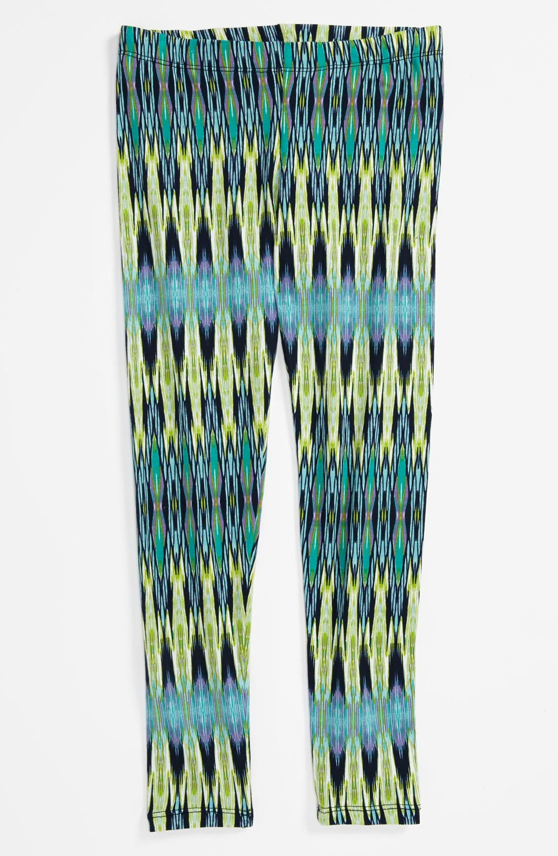 Alternate Image 1 Selected - Mia Chica Print Legging (Little Girls & Big Girls)