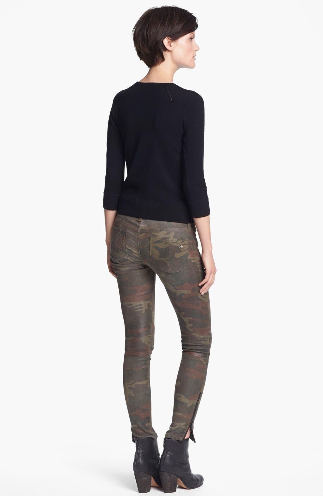 Alternate Image 2  - rag & bone/JEAN 'Natalie' Crewneck Sweater
