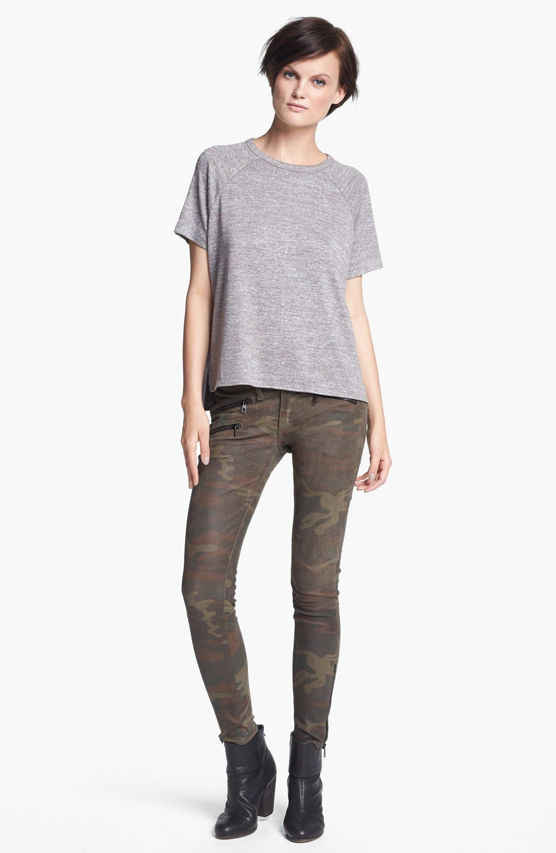 Main Image - rag & bone/JEAN 'Camden' Short Sleeve Tee
