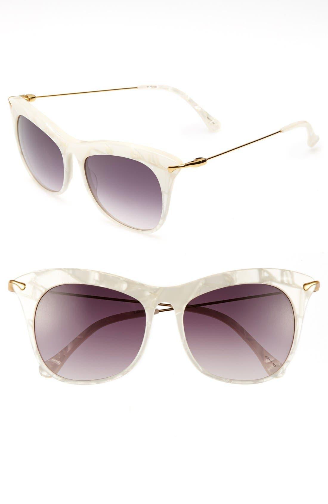 Alternate Image 1 Selected - Elizabeth and James 'Fairfax' 53mm Sunglasses