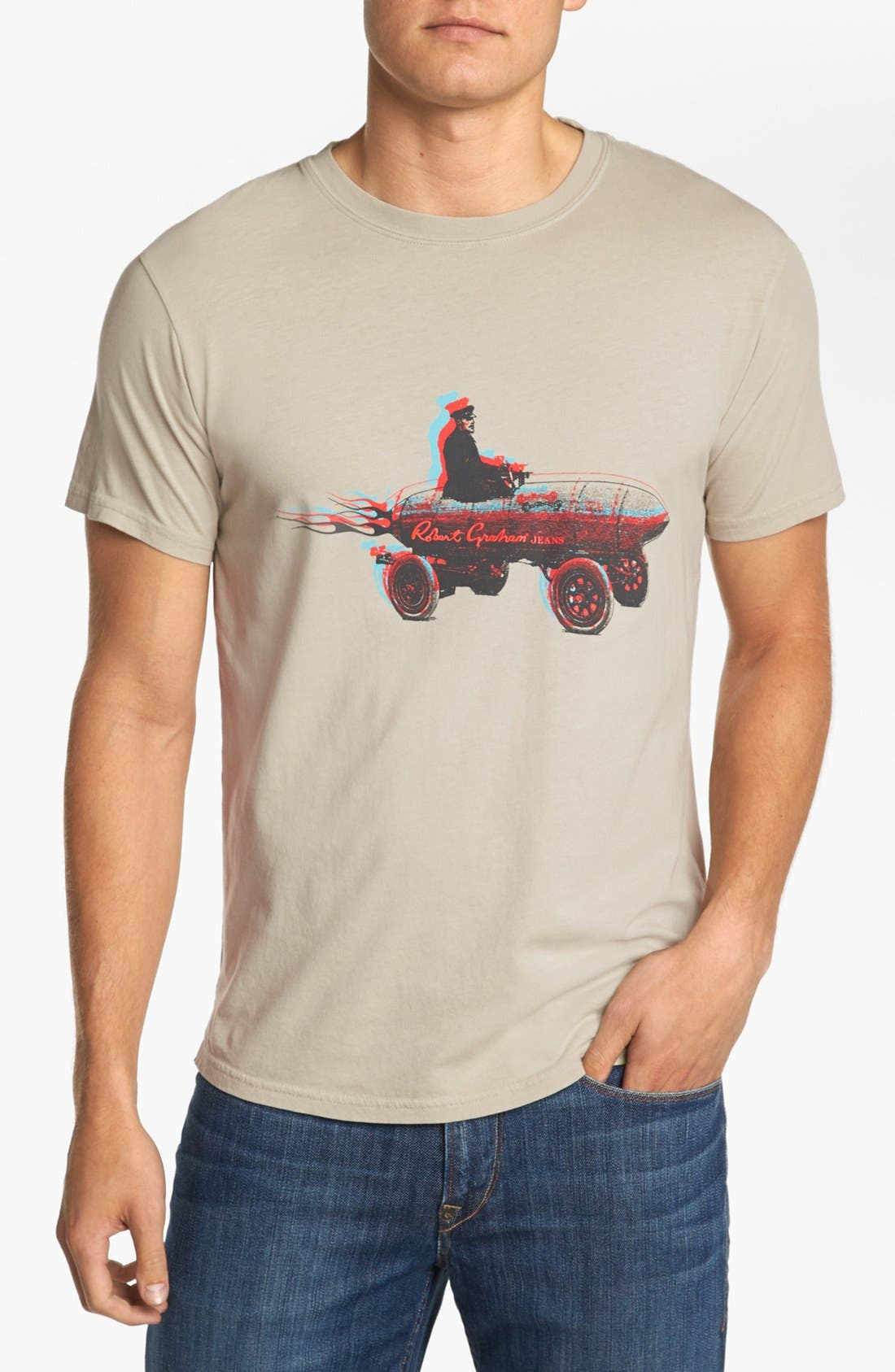 Main Image - Robert Graham 'Vroom' T-Shirt