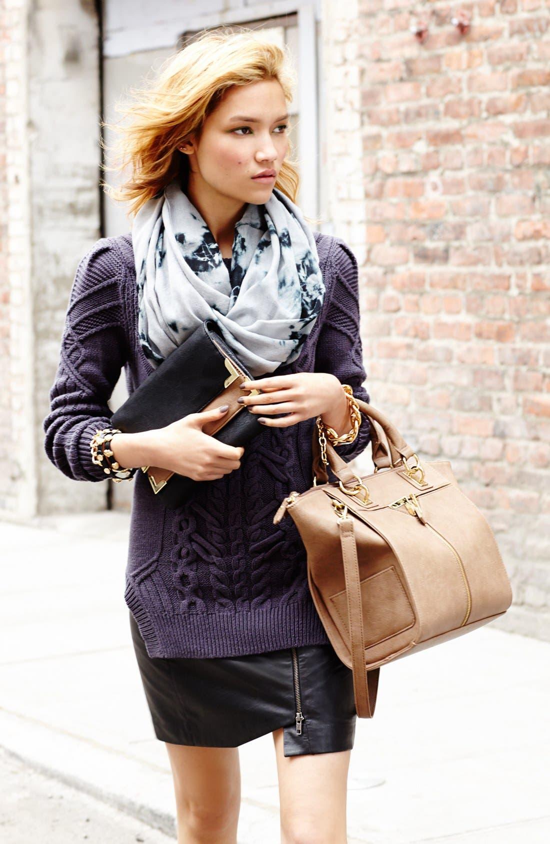 Alternate Image 5  - Danielle Nicole Faux Leather Clutch