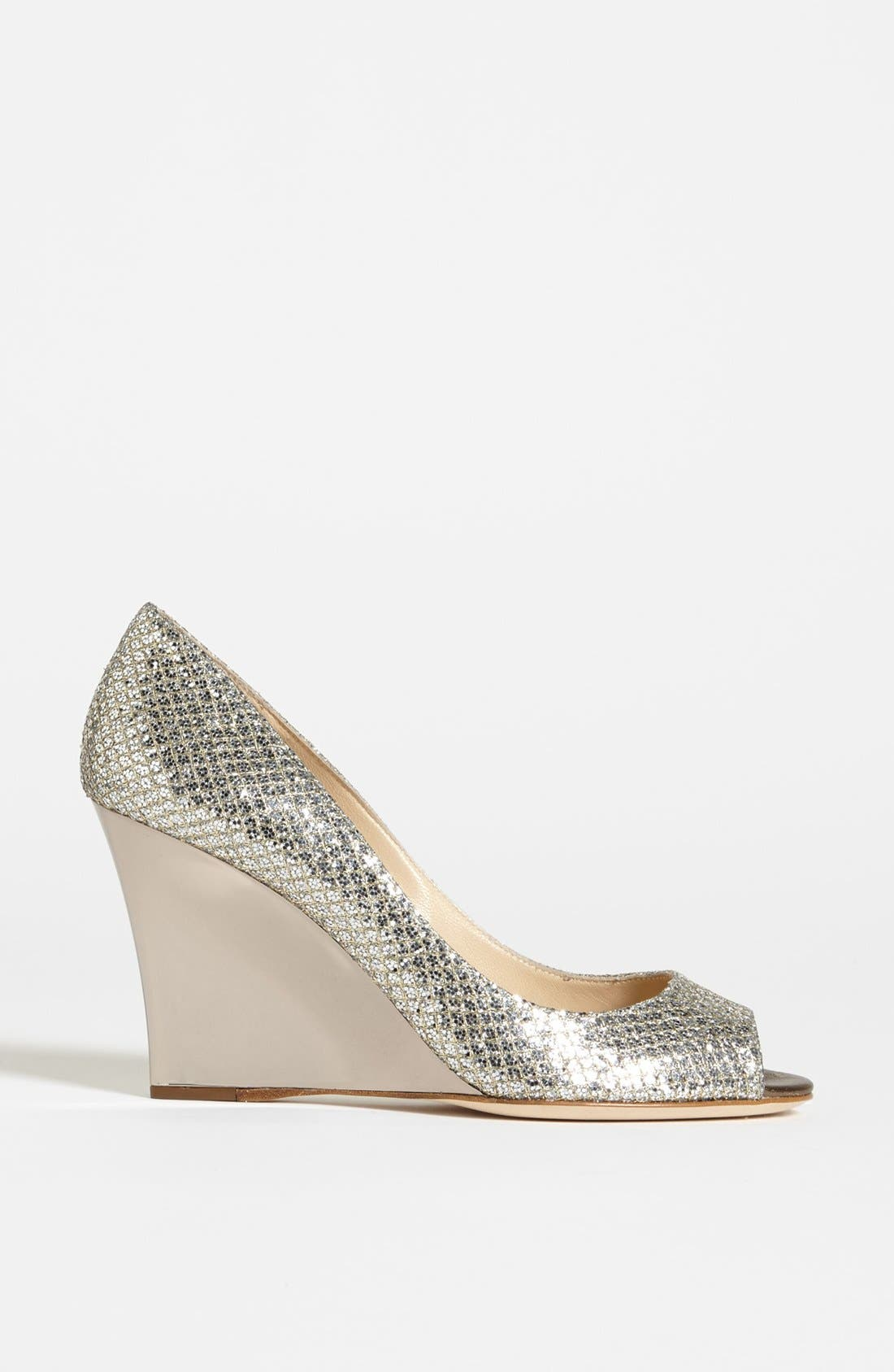 Alternate Image 4  - Jimmy Choo 'Baxen' Wedge Pump