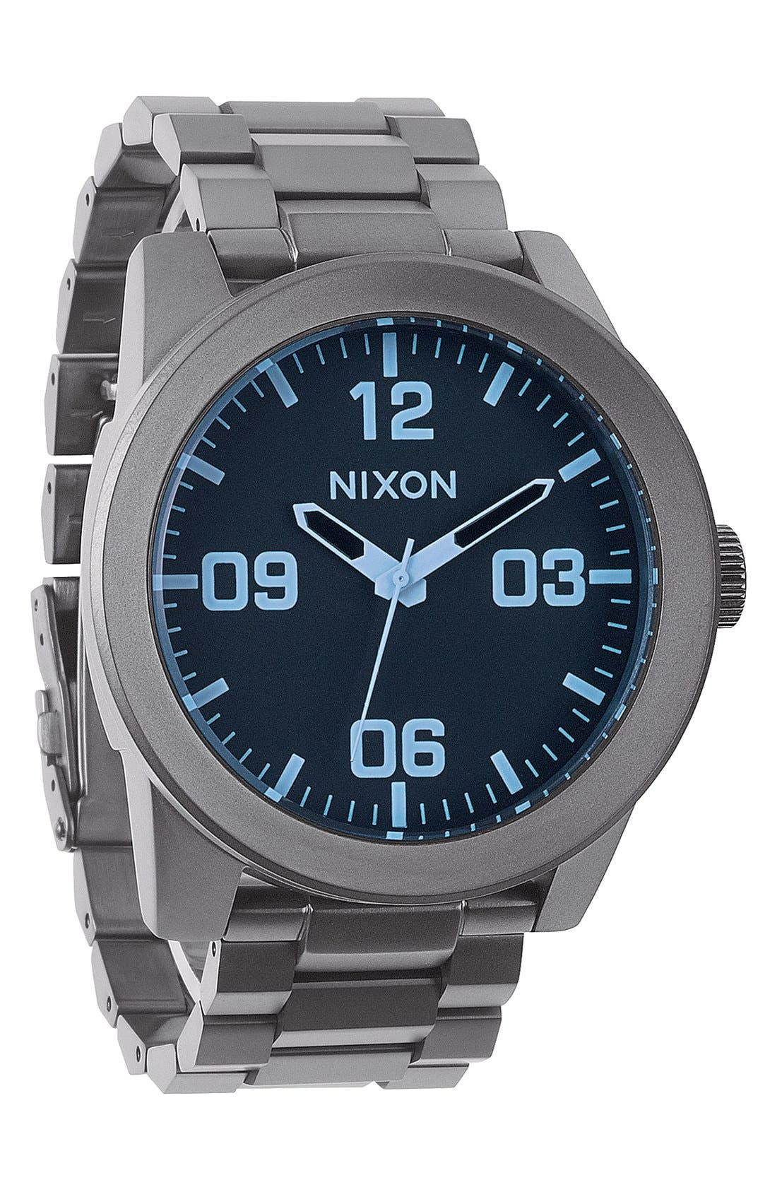 Main Image - Nixon 'The Corporal' Bracelet Watch, 48mm
