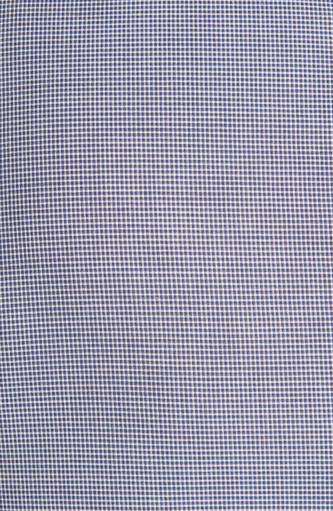 Alternate Image 3  - rag & bone 'Charles' Micro Gingham Woven Shirt