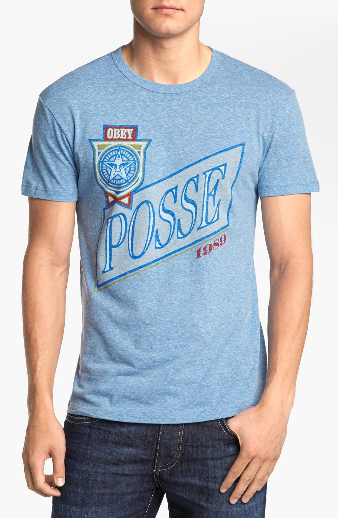 Alternate Image 1 Selected - Obey 'Posse Light' T-Shirt