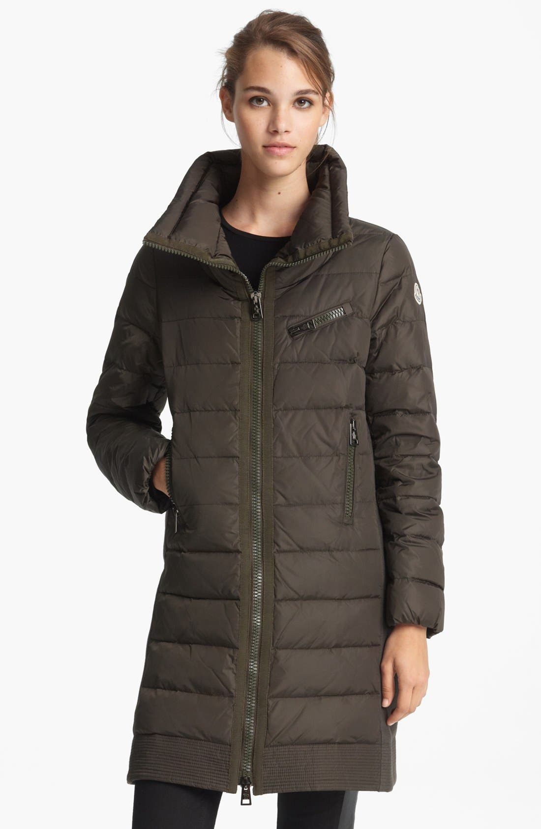Alternate Image 1 Selected - Moncler 'Herisse' Down Coat