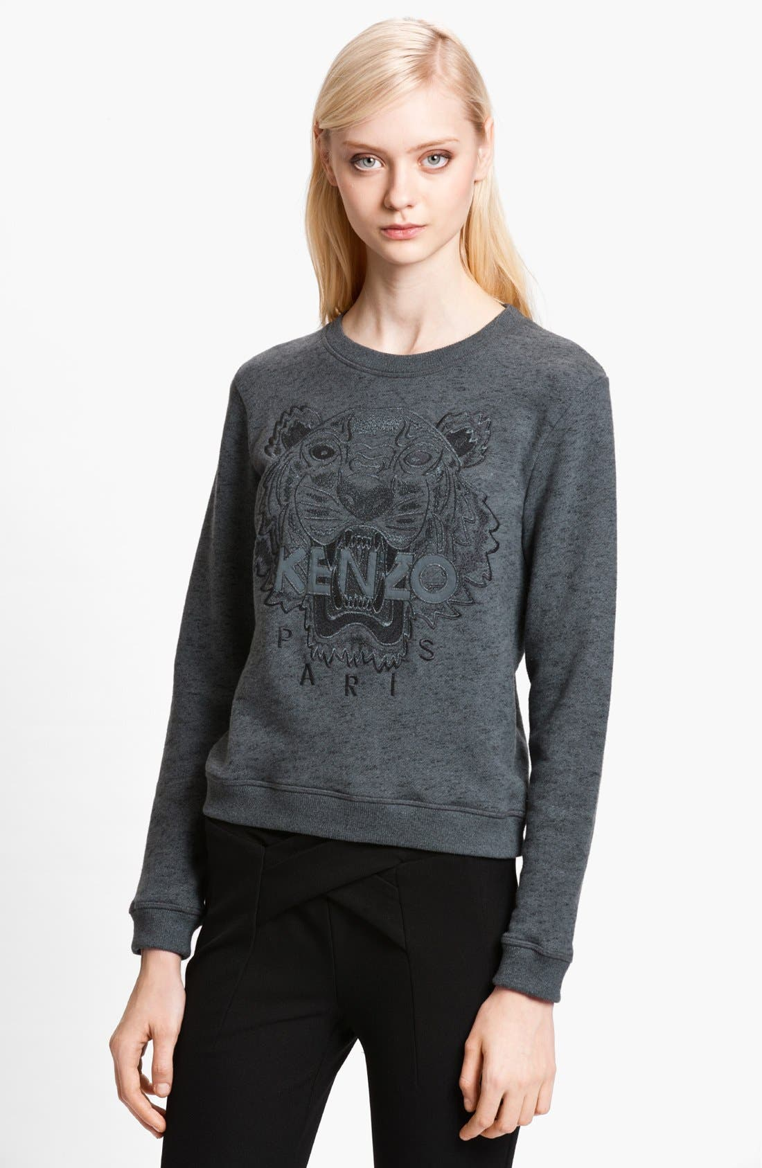 Alternate Image 1 Selected - KENZO Embroidered Tiger Sweatshirt
