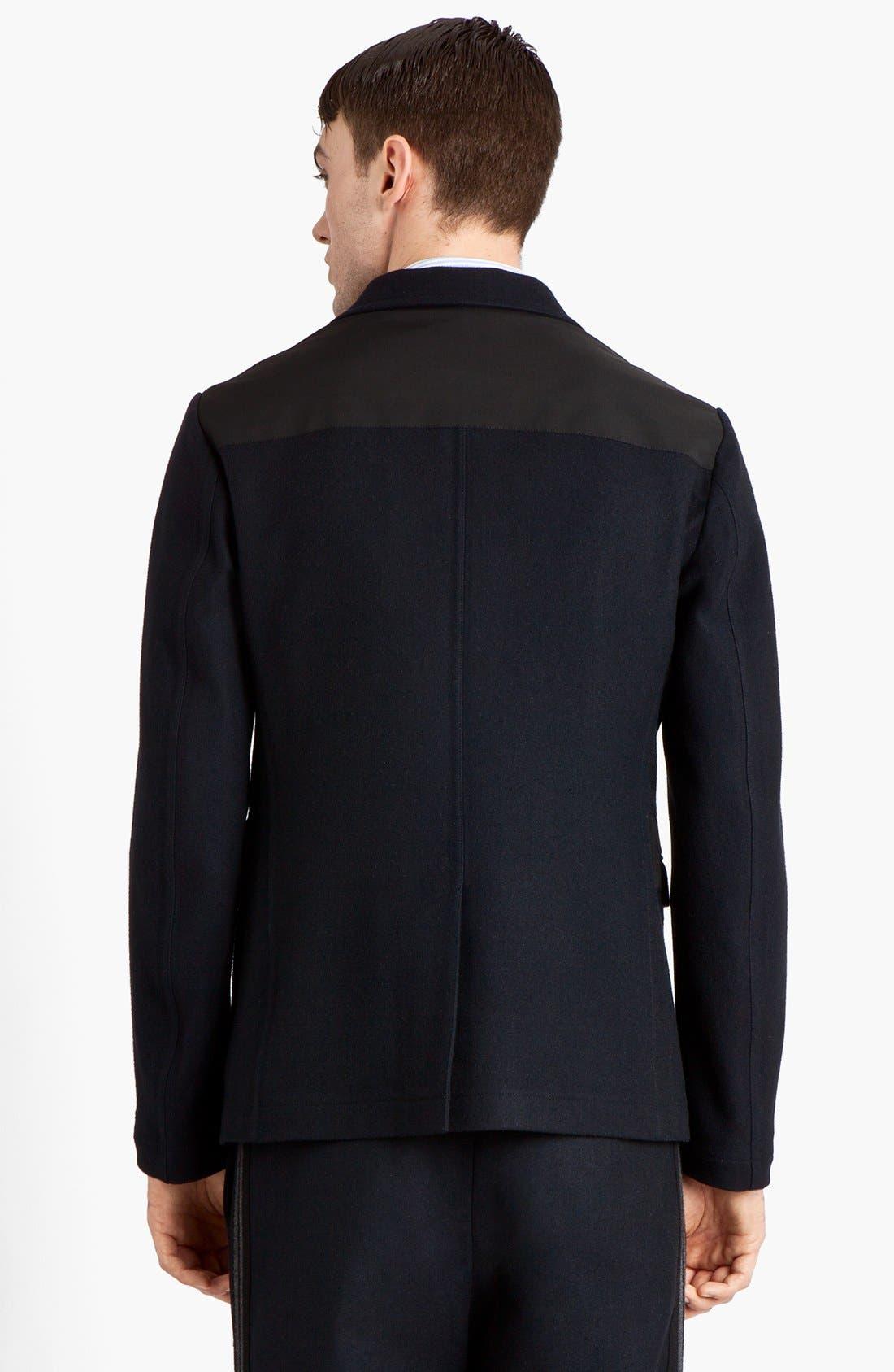 Alternate Image 2  - Marni Three Button Wool Blend Blazer
