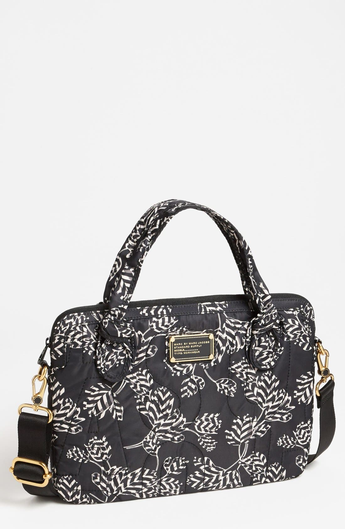 Main Image - MARC BY MARC JACOBS 'Pretty Nylon - Computer Commuter' Bag (13 Inch)