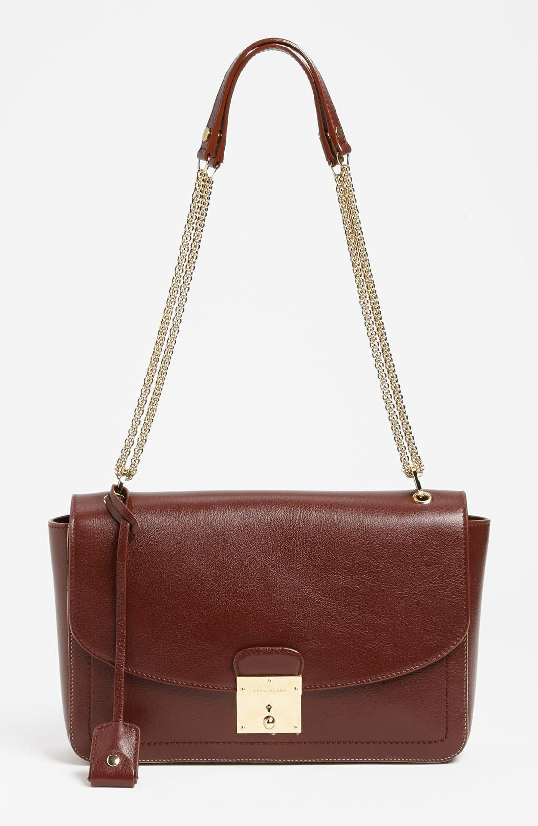Main Image - MARC JACOBS '1984 Polly' Leather Shoulder Bag