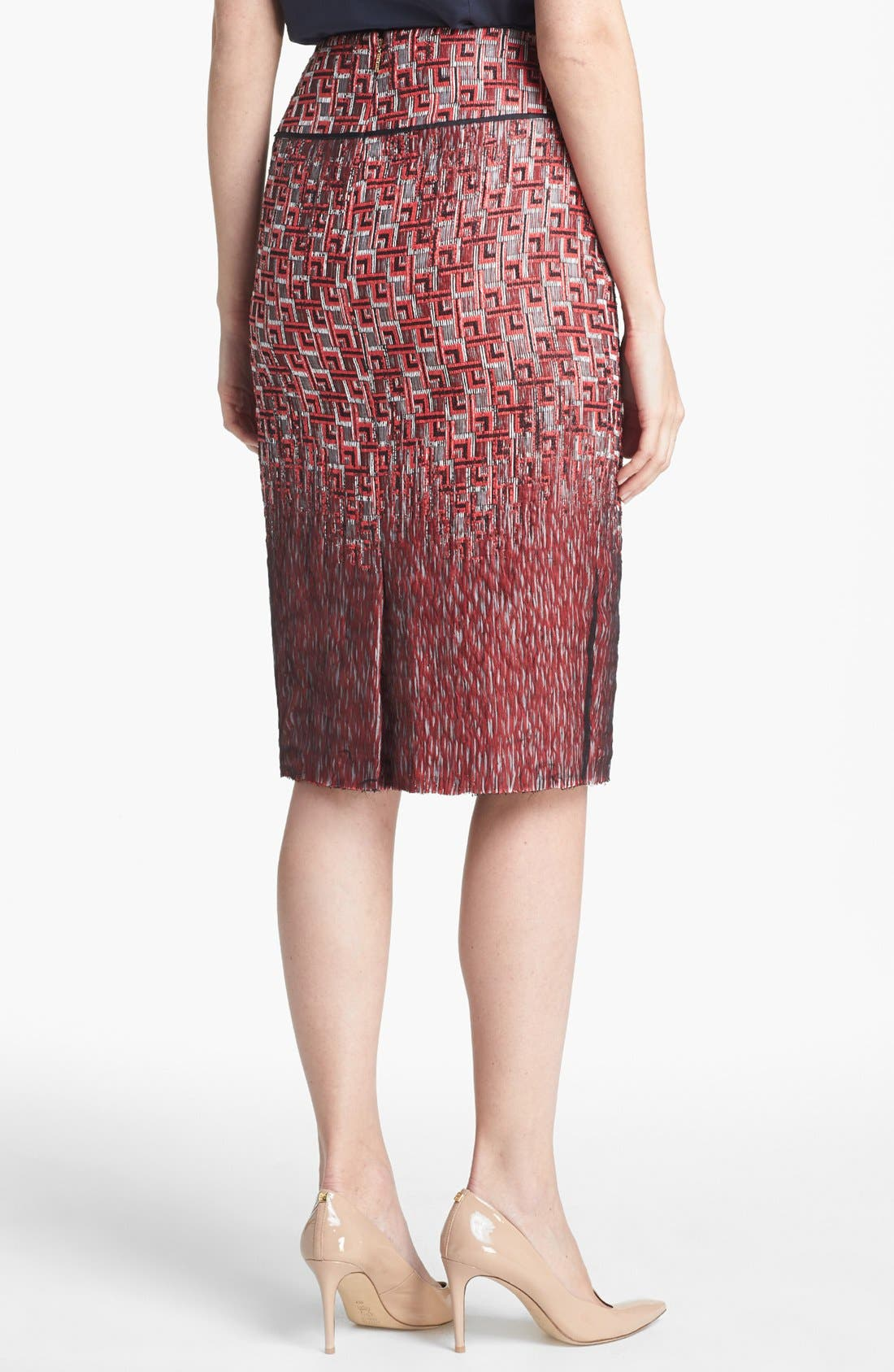 Alternate Image 2  - Tory Burch 'Ruby' Jacquard Skirt