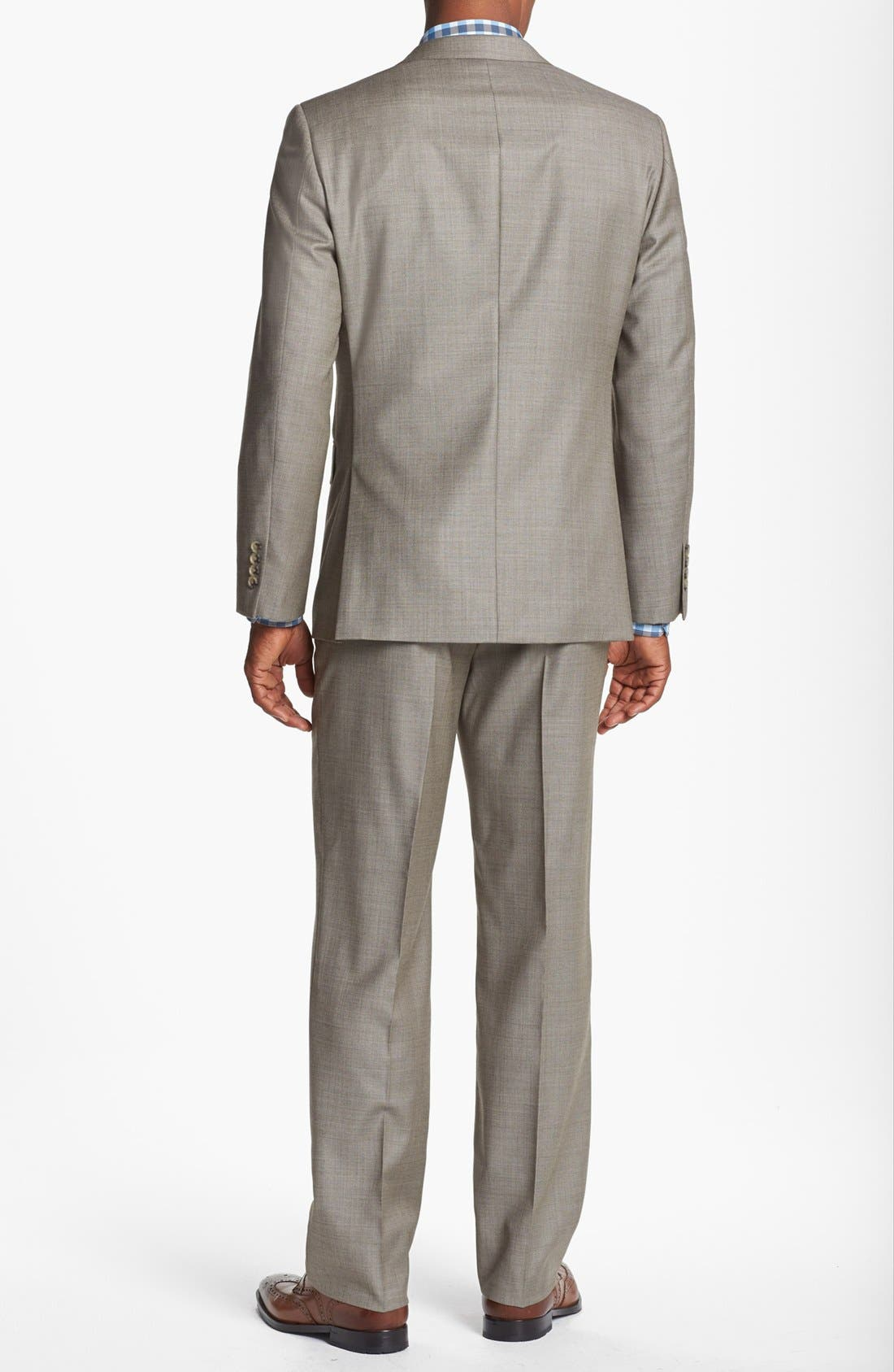 Alternate Image 3  - John W. Nordstrom® Classic Fit Wool Suit