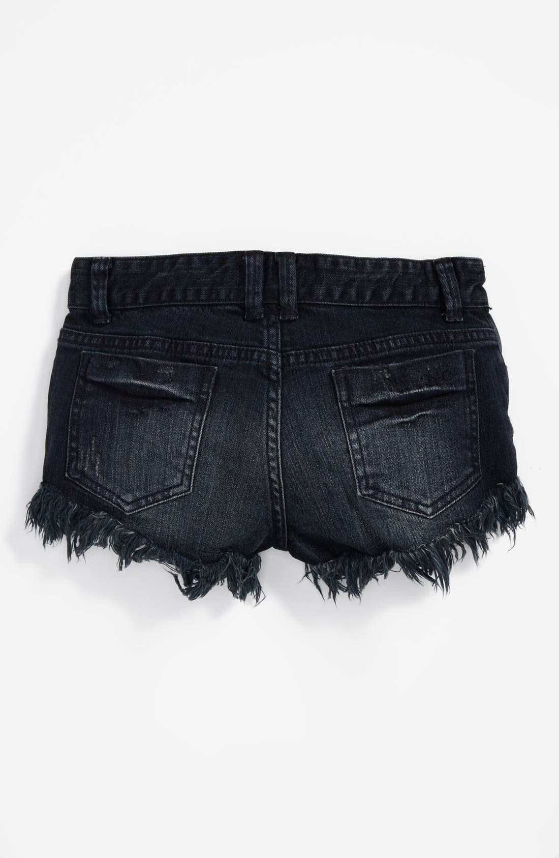 Alternate Image 1 Selected - Billabong 'Beach Out' Denim Shorts (Big Girls)